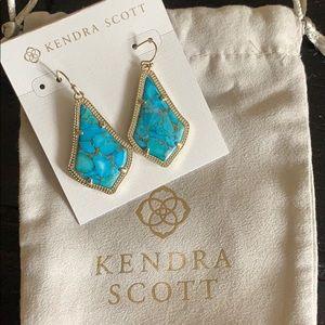 Kendra Scott Alex Earrings Turquoise